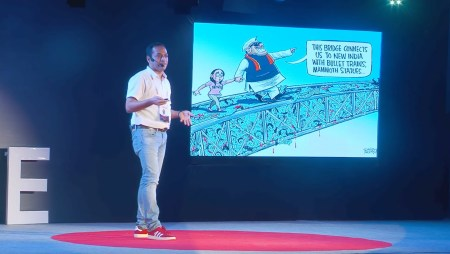 How my cartoon ideas are ignited? TED talk!
