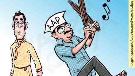 AAP's gains in Gujarat!
