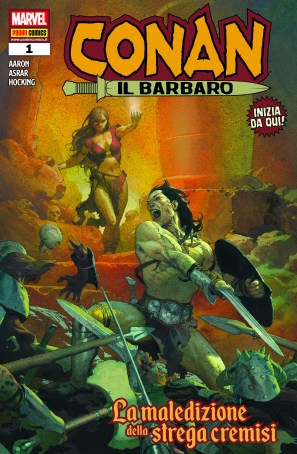 Cover Conan il Barbaro