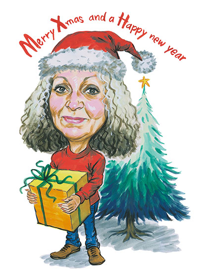 Christmas Caricatures Cartoonme Co Za