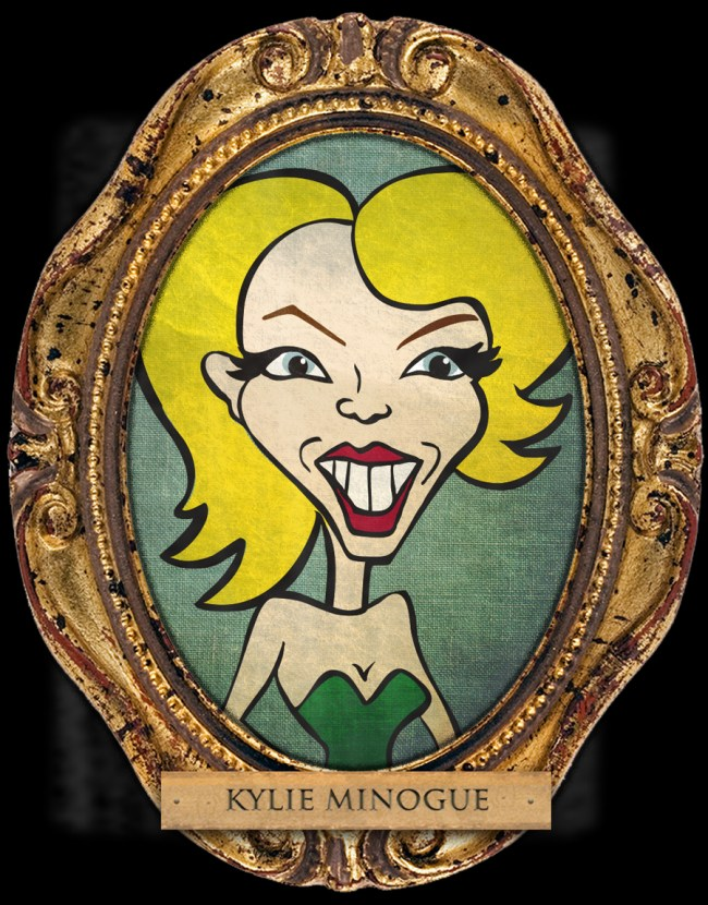 Kylie Minogue Cartoon