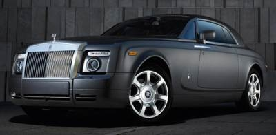 The 2009 Rolls-Royce Phantom Coupe
