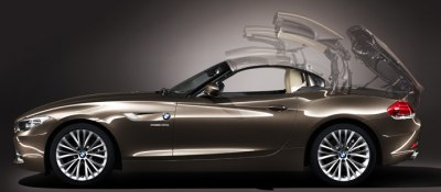 Photo: BMW Z4 sDrive35i Roadster retractable hard-top roof