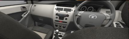 Tata Manza interior photo: Centre console is clean and does the job
