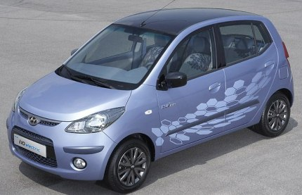 hyundai i10 electric car photo