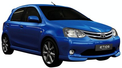 Toyota etios hatchback photo