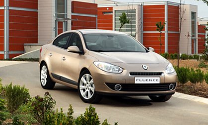 renault fluence india photo