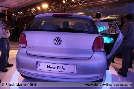 volkswagen polo rear photo