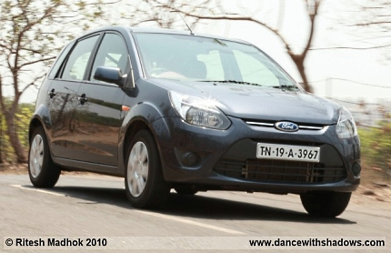 ford figo petrol road test