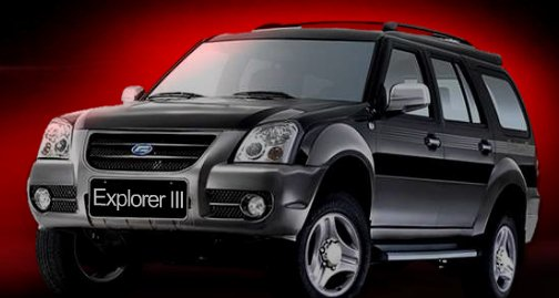 force motors explorer suv photo