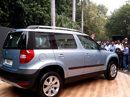 skoda yeti launch photo