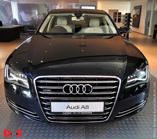Audi A8 India Launch At A Price Of Rs 76 Lakh, Audi A8