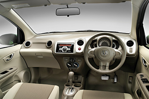 honda brio interior photo