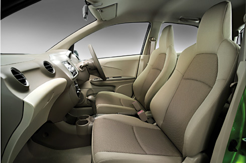 honda brio inside photo