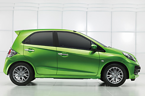 honda brio photo gallery