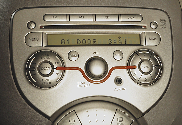 nissan micra music player
