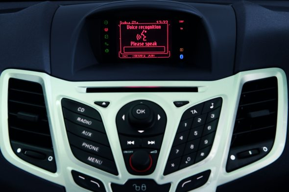 new ford fiesta voice recognition photo