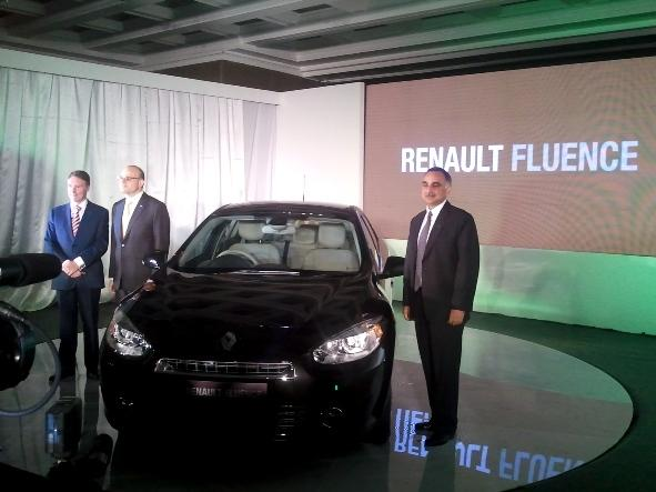 Renault Fluence launch picture