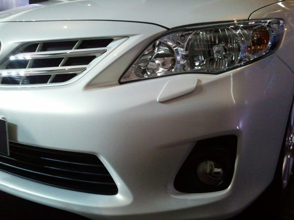 toyota altis headlight photo