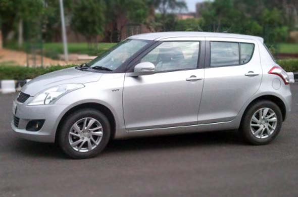 maruti suzuki swift side profile photo