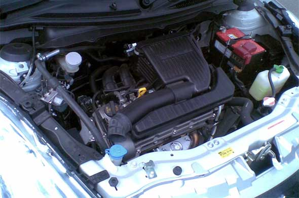 maruti suzuki swift engine photo