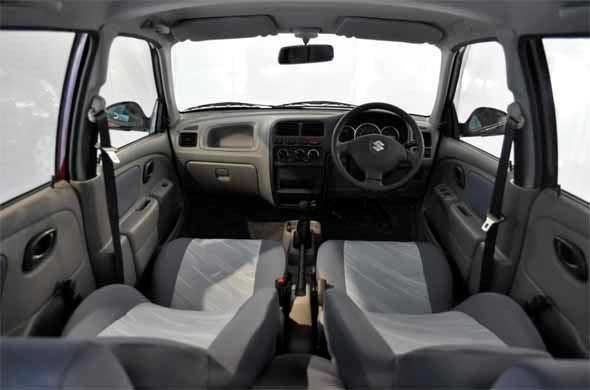 alto k10 interiors