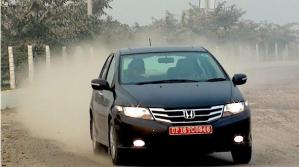 honda city action photo