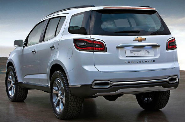 chevrolet trailblazer rear