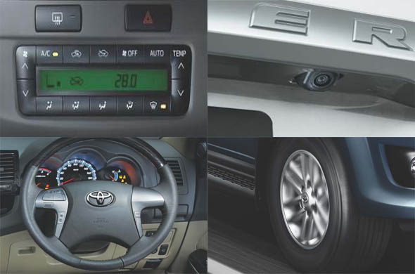new fortuner airbags and abs