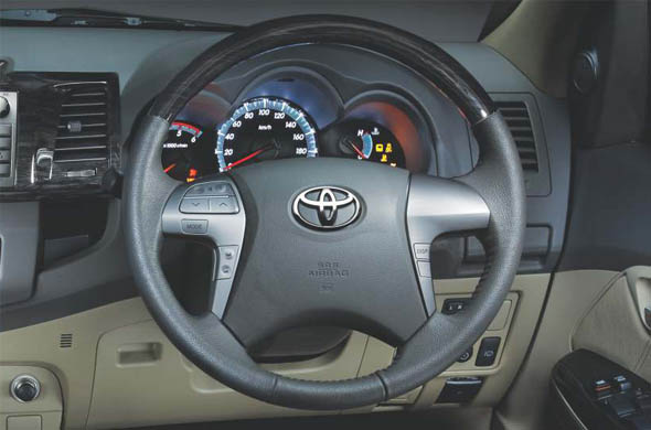 new toyota fortuner gadgets and features