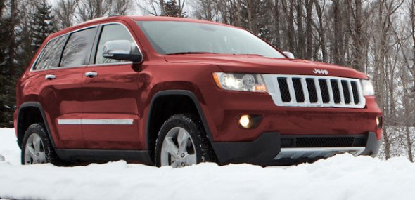 Jeep Grand Cherokee Luxury SUV Picture