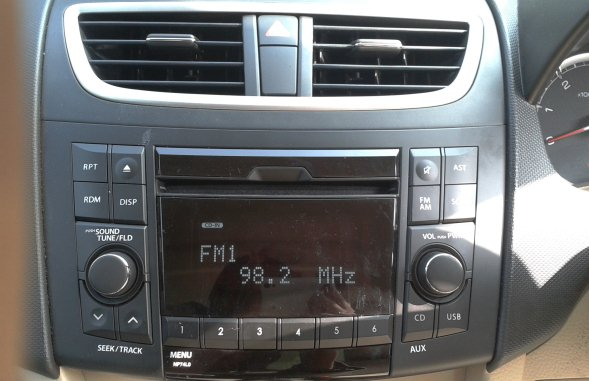 maruti  dzire music system photo