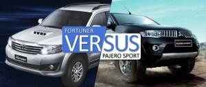 fortuner vs pajero sport