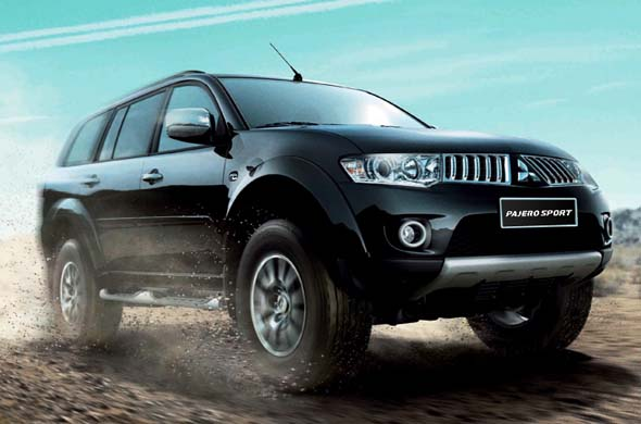 pajero sport side right