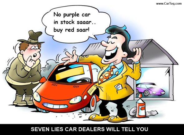 Lies And Tricks Used By Car Salesmen And Car Dealers In India