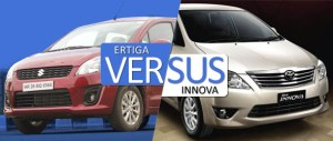 ertiga vs Innova