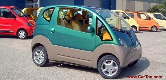 mdi miniflow air car photo