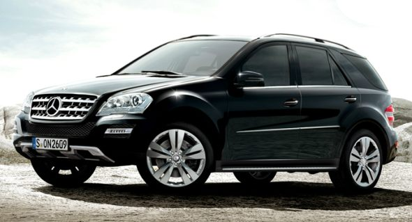 Mercedes Benz M Class Suv India