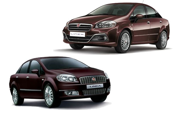 old-linea vs new linea front