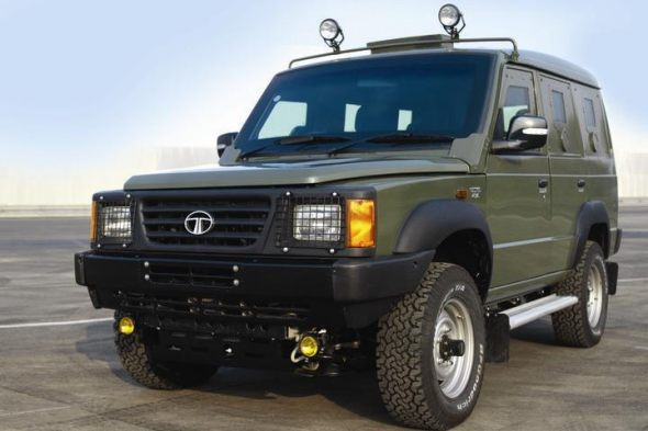 tata sumo military version photo