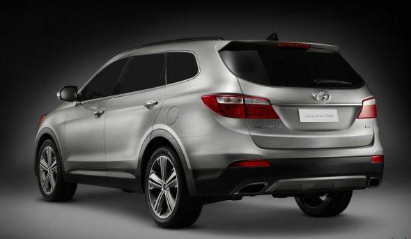 2014 Hyundai Sante Fe SUV Rear Picture