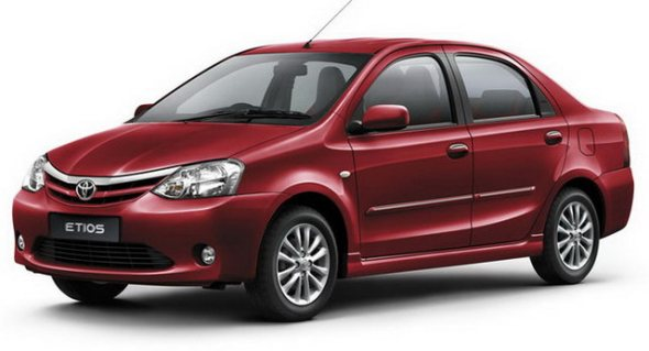 Current-Generation Toyota Etios Sedan Image