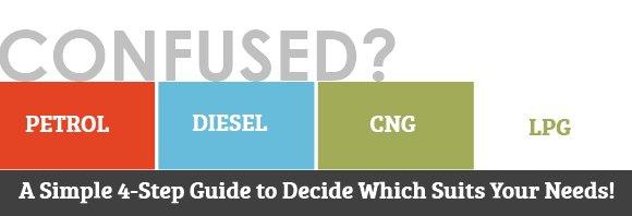 petrol vs diesel vs cng vs lpg fuel comparison