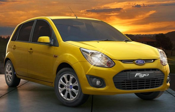 new ford figo front photo