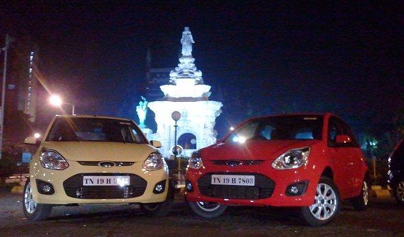 new ford figo night photo