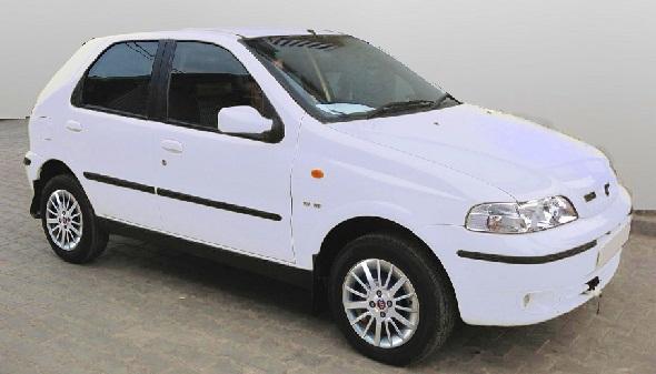 Fiat Palio 1.6 white