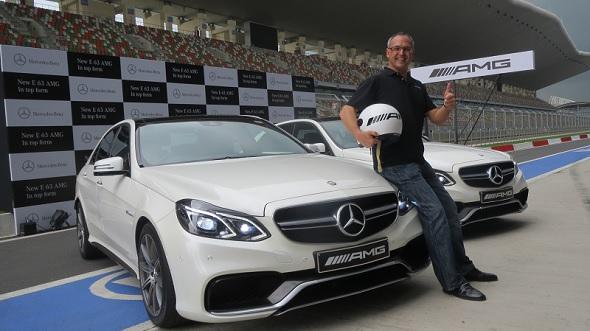 Mercedes e63 amg launch photo-1