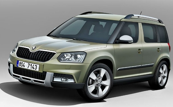 Skoda Yeti Facelift Photo