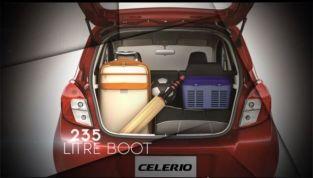 2014 Maruti Celerio Boot