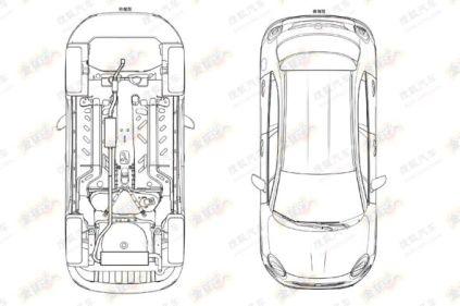 2015 Fiat 500X Patent Drawing 4